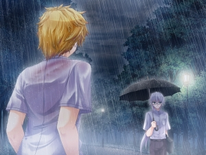 I'm singing in the rain ♪